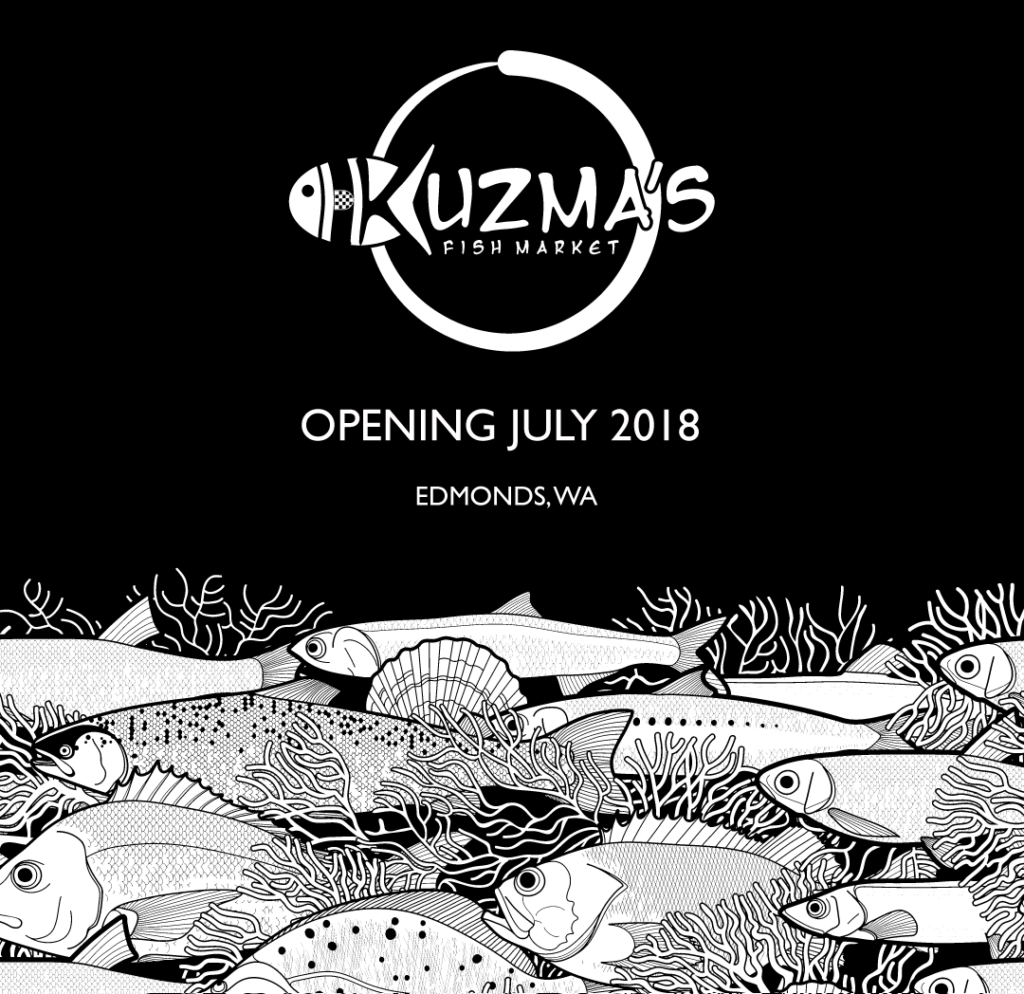 Kuzma's Fish Market Opening in Edmonds