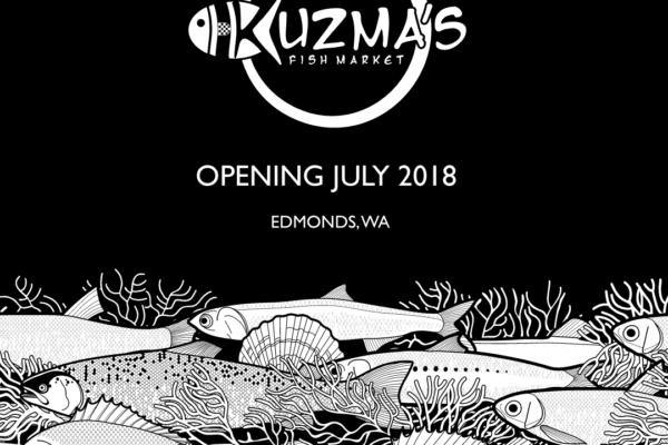 Kuzma's Fish Market Opening in Edmonds