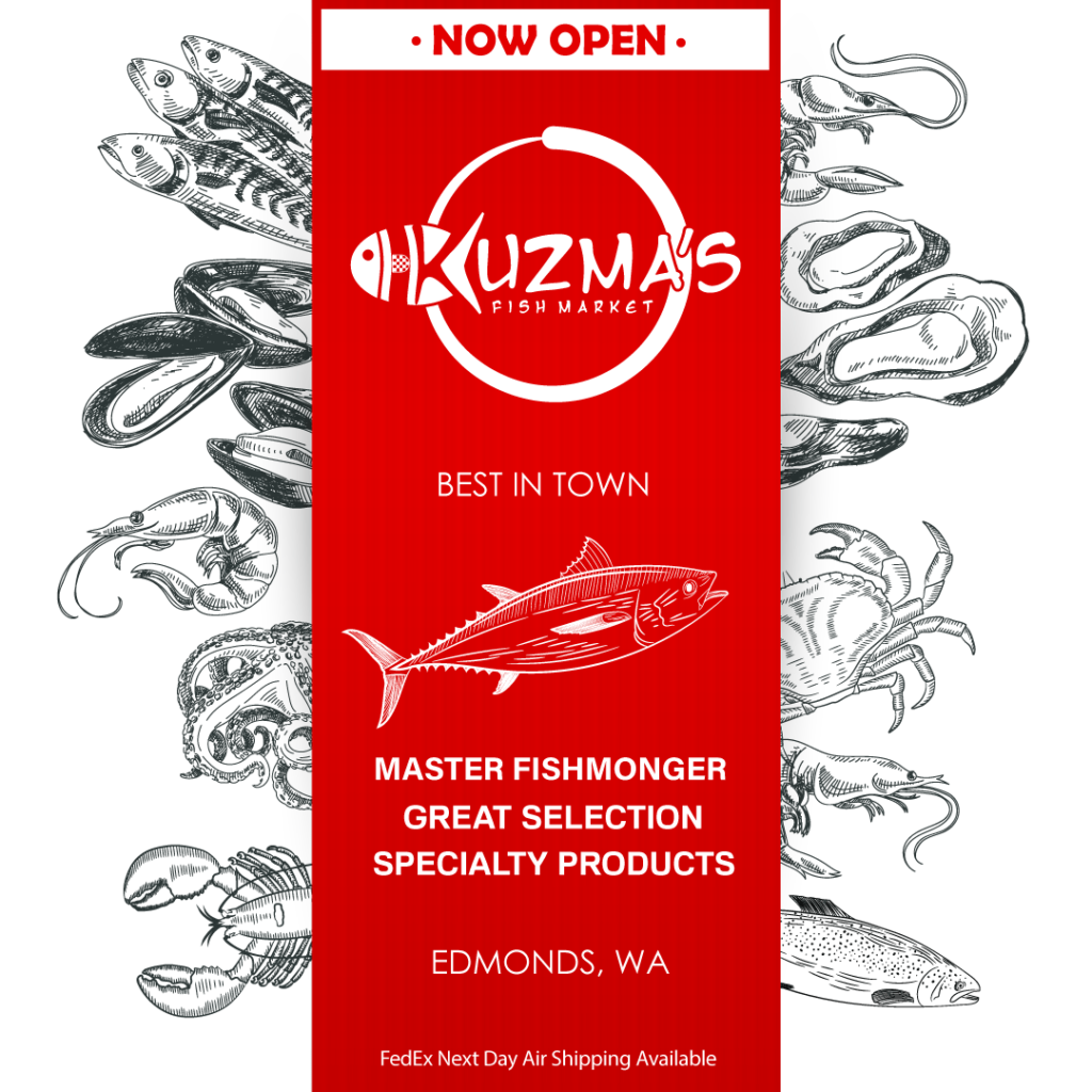 Kuzma's Fish Market is Open for Business