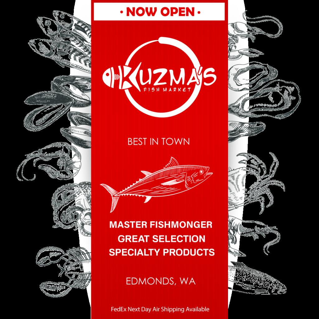 Kuzma's Fish Market is Open for Business
