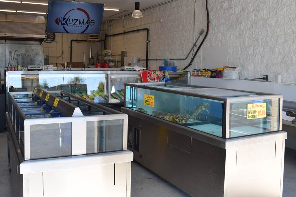 Kuzma's Fish Market - Salt Water Tanks