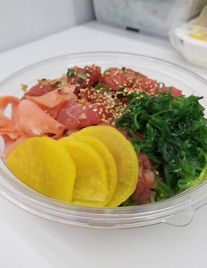 Kuzma's Fish Market Fresh Tuna Poke Bowl